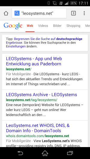 Screenshot-LEOSystems-via-Google-Suche