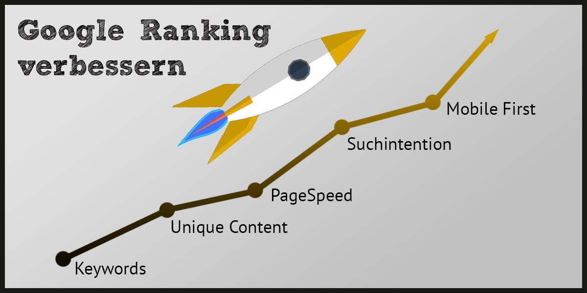 Google-Ranking verbessern mittels OnPage-Optimierung