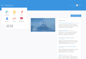 pagekit-dashboard