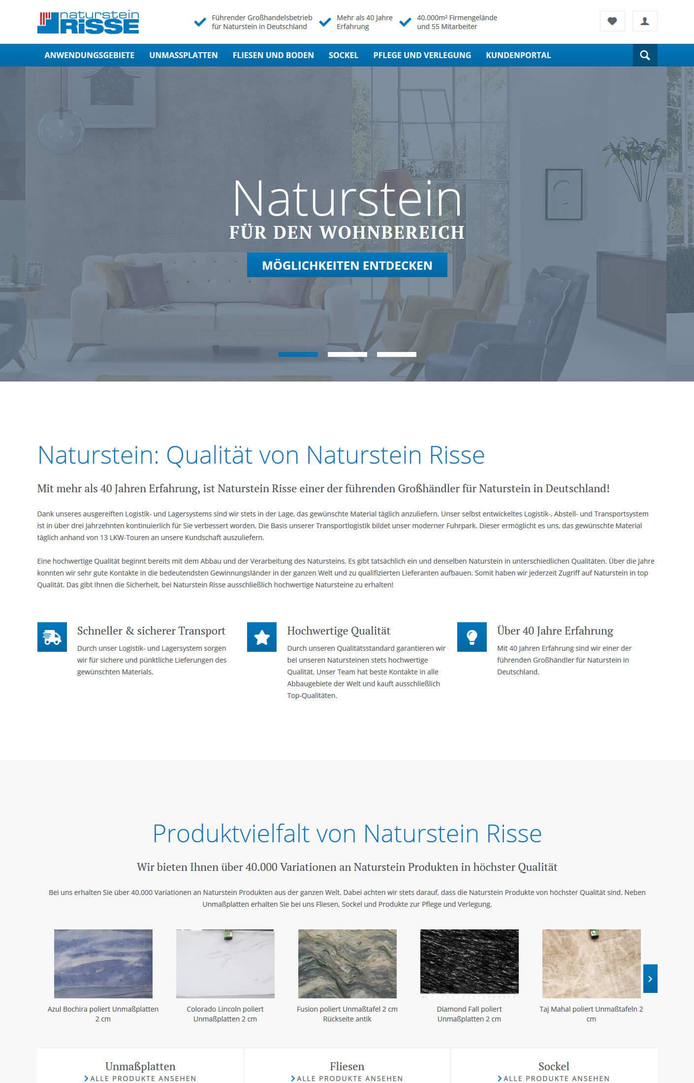 Naturstein Onlinehandel