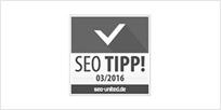 Seo Tipp 2016 Auszeichnung