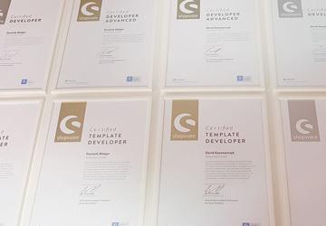 E-Commerce Know-how der Webcellent GmbH von der Shopware AG zertifiziert