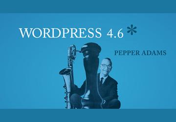 Wordpress 4.6 Pepper veröffentlicht
